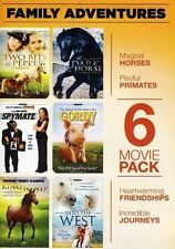Family Adventures: 6 Movie Pack (DVD, 2011, 2-Disc Set)