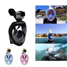Snorkel Full Face Diving Mask Scuba Swimming Goggles Under Water Anti-fog Tool