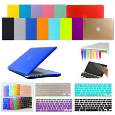 """4in1 Crystal Hard Case Cover Keyboard Skin for Apple MacBook Air Pro 11"""" 13"""" 15"""""""