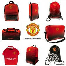 Manchester United Backpack/Ruck Sack Boot Bag/Shoe Bag Gym Bag  Lunch Bag Bottle