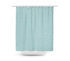 Mickey Polka Dots Aqua Shower Curtain - Unique in 4 sizes for any Bathroom