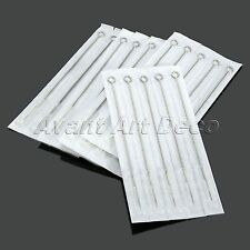 NEW 5RS Tattoo Needles Round Liner Body Art Stainless Steel Needles 10/50pcs