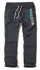 New Hollister By Abercrombie Mens Sweatpants Trousers Size XS XL Navy