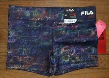 Fila Sport Compression Running Shorts Performance Wear Wicking Electric $28.00