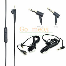 Replacement Audio Control Cable W REMOTE for Around-Ear AE2 AE2i AE2w Headphones