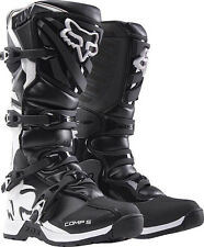 2017 Fox Racing Black Comp 5 Boot Motocross MX Offroad Boots ATV Youth Kids