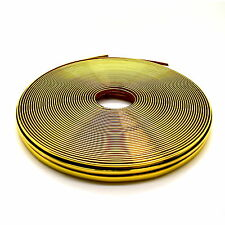 Gold Chrome Car Styling Tuning Moulding Strip Trim Self Adhesive Finish Tape GSM
