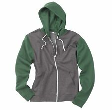 AWDis Hoods Retro zoodie - contrast zip hoodie (X-Small - XX-Large)(4 Colours)