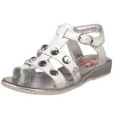 PRIMIGI GIRLS PATENT LEATHER SANDALS SHOES WHITE SIZE 32 13.5 US OR 35 3 US NEW