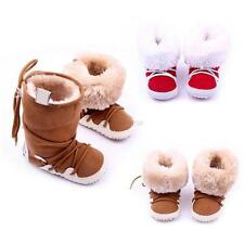 0-12 Months Baby Girl Boy Newborn Winter Warm Boots Toddler Infant Sole Shoes