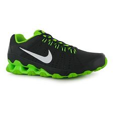 Nike Reax 9 Training Shoes Mens Grey/White/Green Fitness Trainers Sneakers