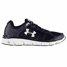 Under Armour Micro Assert 6 Running Shoes Mens Navy/White Trainers Sneakers