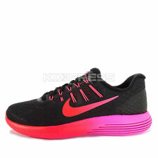 WMNS Nike Lunarglide 8 [843726-006] Running Black/Multi-Color-Noble Red