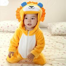 Baby Boy Girl Halloween LION Animal Party Costume Outfit Clothes Dress 00 0 1 2