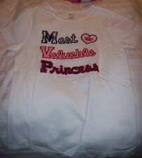GYMBOREE GIRL'S Most Valuable Princess Tee MSRP$26.95 MULTIPLE SIZES NEW W/TAG