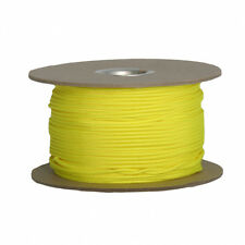 Neon Yellow Volt Lacrosse String 5 or 10 yards 15 or 30 feet top sidewall bottom