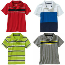 Baby Toddler Boys Assorted Short Sleeve Polo Dress Shirt 12 Month to 4T NEW
