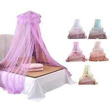 Round Lace Curtain Dome Bed Canopy Netting Princess Mosquito Bug Net Room Hangs#