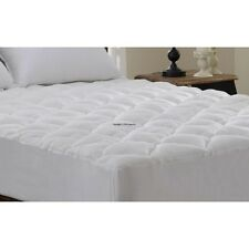 HIGH QUALITY EXTRA PLUSH BAMBOO FITTED MATTRESS PAD/ TOPPER