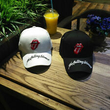 Hot !The Rolling Stones Bank Baseball Cap Adjustable Hip hop Snapback Hat Unisex