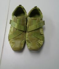 COACH Karrah Green Sneakers Size 6M Synthetic Blend B3102
