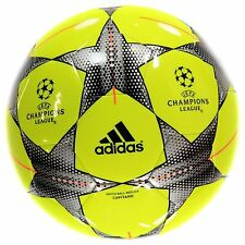 Adidas UEFA Champions League Match Ball Capitano Football Solar Yellow Soccer