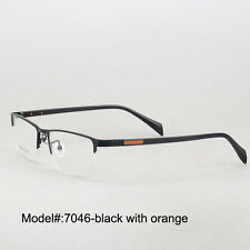 7046  half rim mental myopia eyewear eyeglasses prescription spectacles frames