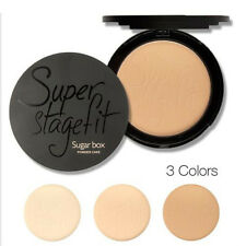 Beauty Face Pressed Powder Compact Matte Contour Foundation Makeup Skin Set