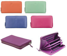 Women Leather Wallet Purse Clutches Prime Hide 22831 Christmas Gift Idea