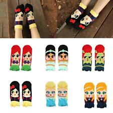Korean Women's Cute Adorable Cartoon Girls Cotton Ankle Socks Low Cut Socks Gift