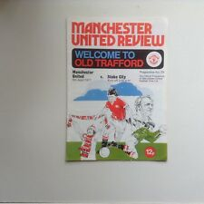Manchester United Football Programmes - Various Fixtures