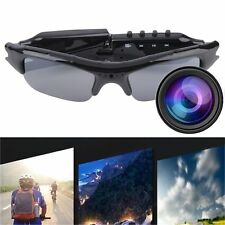TF DVR 640x480 Video Audio Recorder Sunglasses Glasses Hidden Camera Eyewear I5