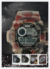 Womens Men's Watches Digital  Stainless Steel & Military Sports WristWatch E5