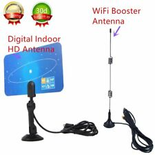 Indoor Digital HD/TV/HDTV/DTV/VHF/UHF/PC/NB Super High Gain Antenna 1080 IP KG