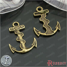 20PCS 32*24MM Alloy Anchor Charms Pendants Jewelry Findings Accessories 20635