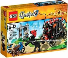 Lego Castle #70401 Gold Getaway~ NEW~ Prison Carriage Horse Flick Fire Crossbow