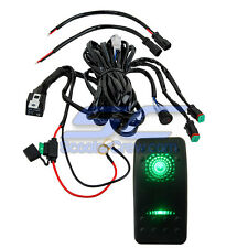 Boat Light Bar Marine Pontoon Power OffShore Go FAST House Green Switch Harness