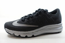 NIKE WOMENS AIR MAX 2016 PRM SHOES black reflect silver 810886 001