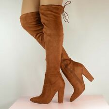 Thigh High Boots Tan Thigh High Boots Over The Knee Boots