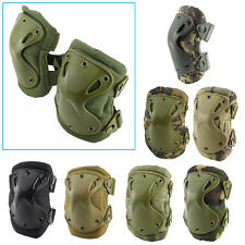 Airsoft Adjustable Tactical Elbow & Knee Protective Pads Knee Pad Skate Combat