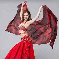 A600083# Belly Dance Colorful 100% Silk Veil Shawl Scarf 5 Colors