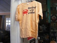 Maryland is For Crabs Pale Yellow Size 30 Unisex