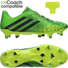 Adidas Predator LZ XTRX SG professional men's soccer cleats green/yellow