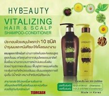 HYBEAUTY HERBAL VITALIZING HAIR SCALP SHAMPOO AND CONDITIONER HAIR LOSS NATURAL