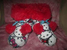 NEW Girls Hello Kitty Slippers, Size 11/12, 3 Styles & Colors,Bootie Type,NEW