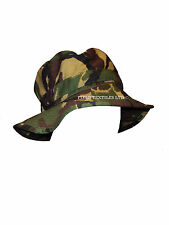 BRITISH ARMY DPM CAMO BUSH HAT - VARIOUS SIZES AVAILABLE - GRADE 1 CONDITION