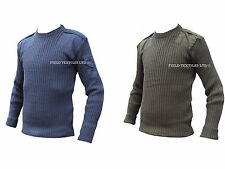 PULLOVER DEAL 2 PACK - RAF BLUE & COMMANDO GREEN - GRADE 1 - VARIOUS SIZES