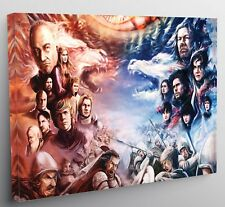 Game Of Thrones Characters Canvas Print Wall Art