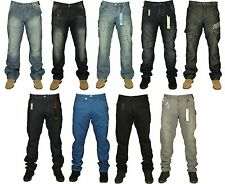 MENS BRAND NEW ETO JEANS IN 9 COLOURS STRAIGHT TWISTED LEG RRP £44.99 NOW £14.99
