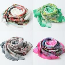 Fashion Lady Women's Wraps Shawl Stole Pashmina Scarves Long Silk Scarf M9B4